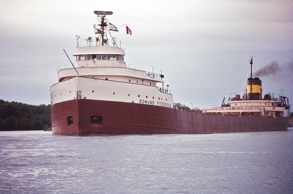SS Edmund Fitzgerald (Image Wikipedia)